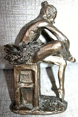 Frith Sculptures (Paul Jenkins) So11 Ballet Dancer On Plinth 84 - Collectable