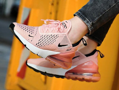 NIKE AIR MAX 270 Ah6789 600 Coral Stardust Pink New Uk Size 6.5 ... 000cad997