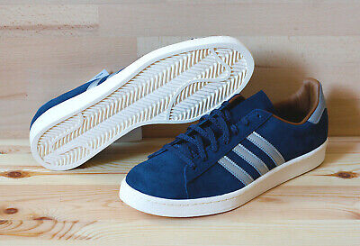 info for dbe4c 5a84c Adidas Campus 80s Mita Navy Silver M22306 44 10 9,5 Gazelle Superstar Suede