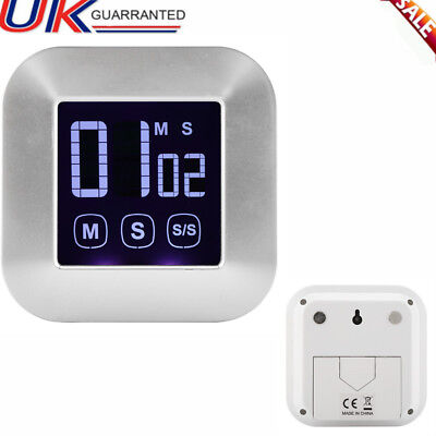 Large LCD Digital Kitchen Egg Cooking Timer Count Down Clock Alarm Stopwatch New