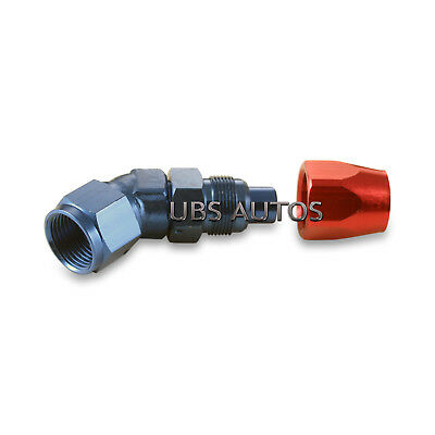 -8 AN 8 AN10 8 45 Degree Forged Fitting Adapter Swivel Hose JIC Cutter Style
