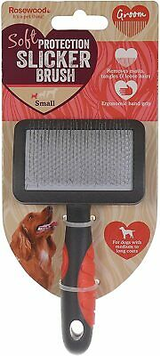 Rosewood Slicker Brush For Cats & Dogs Great For Matts & Tangles - 3 Sizes