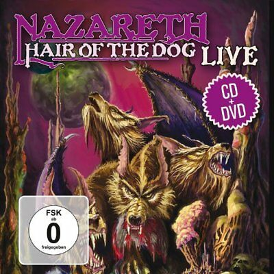 Nazareth-Hair Of The Dog Live (Ger) Cd New