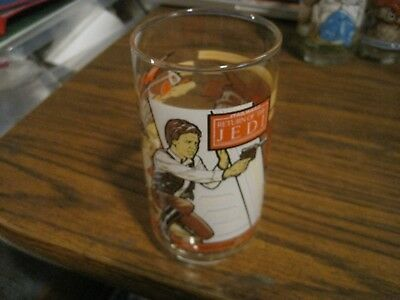 Vintage 1983 Star Wars  Return Of The Jedi Burger King Coca-Cola Glass!  #3