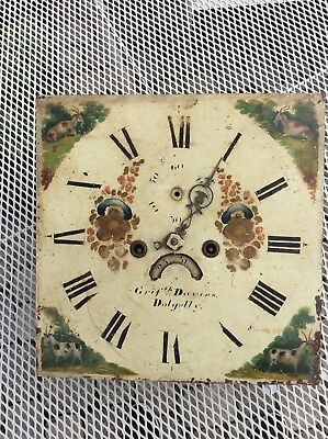 Antique 8 day Clock face and mechanisum