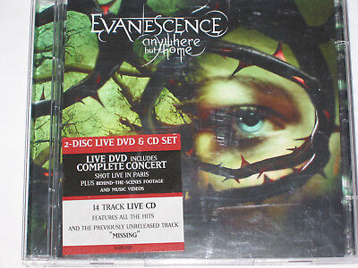 Evanescence - Anywhere But Home 2-Disc Live DVD & CD Set