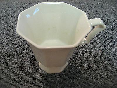 Independence Ironstone White Coffee Cup Tea Cup Retro Vintage - Great Condition