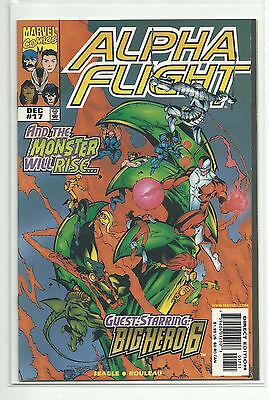 (1997) Marvel Alpha Flight Lot #16 17 1St Big Hero 6 Cameo & Full Appearance Nm