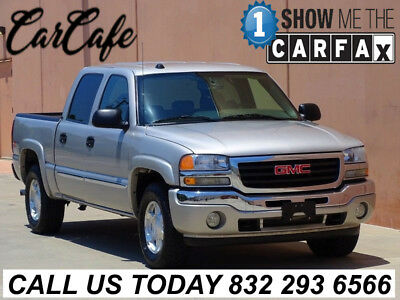 2005 GMC Sierra 1500 Crew Cab Pickup 4-Door 05 GMC SIERRA 1500 4X4 Z71! 1 OWNER! ACCIDENT FREE! CARFAX CERTIFIED! LEATHER!