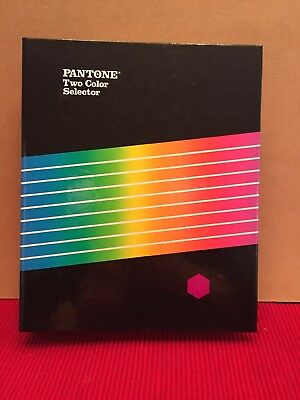 The PANTONE Library of Color - Pantone Two Color Selector, 1985, Excellent