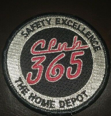 Home Depot Safety Excellence Club 365 Patch