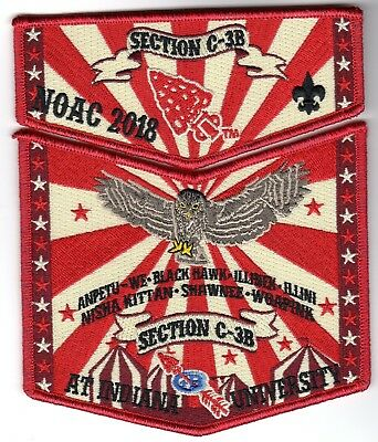 2018 NOAC Section C3B Flap Set