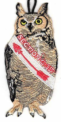 "OA Section C3B Mascot ""Ollie Owl"" Patch"