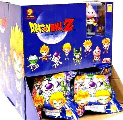 Dragon Ball Z ORIGINAL MINIS Blind Pack CASE of 24 Packs NEW with Display SEALED