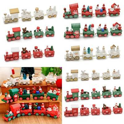 XMAS 2018 WOODEN Train Merry Christmas Decorations Kids Favor Tree ...