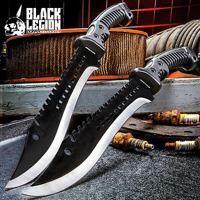 """15"""" TACTICAL HUNTING SURVIVAL RAMBO MACHETE FIXED BLADE KNIFE Axe Sword Army"""