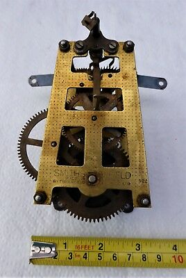 Vintage Smiths Enfield Clock Movement 522 For Spare Parts