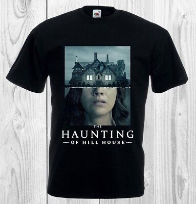 The Haunting Of Hill House - Horror TV Show/Series Halloween - Black T-Shirt