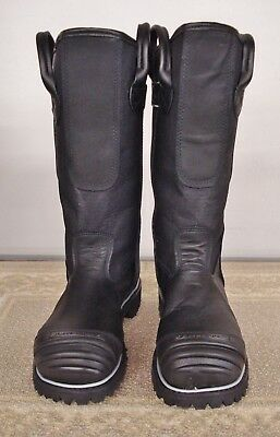 """Factory Seconds Firefighting 14"""" Structural Bunker Boot - 5007 - size 9.5 E"""