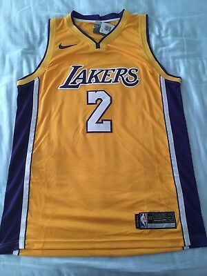 d617eb0a47d LONZO BALL JERSEY Los Angeles Lakers #2 Basketball Mens Swingman Stitched  NWT - $39.99 | PicClick
