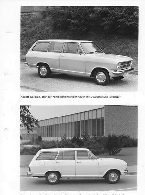 1969 Opel Kadett Caravan 3 Door & 5 Door ORIGINAL Factory Photo oac0774