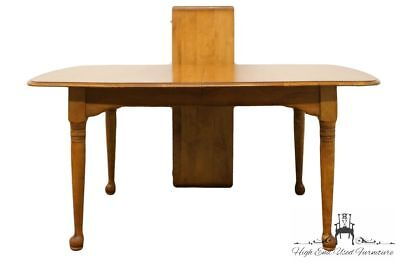 """CUSHMAN Colonial Solid Hard Rock Maple 74"""" Dining Table w. Antique Finish 5845"""