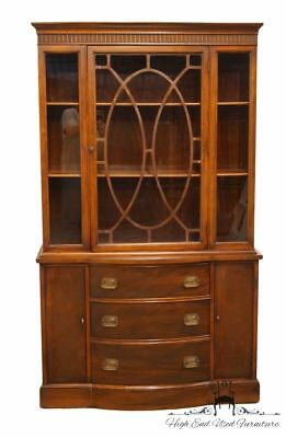 "1940's Vintage Antique Duncan Phyfe 42"" China Cabinet"