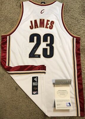 new style c4da7 067a9 store lebron james signed rookie jersey e50e5 97abe