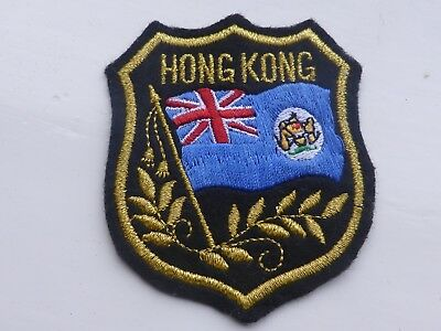 Hong Kong British Colony Sew on Badge / Patch