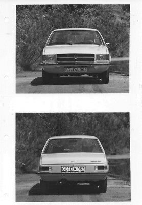 1973 Opel Rekford ORIGINAL Factory Photo oac0805