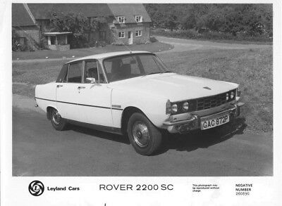 1968 Rover 2200 SC ORIGINAL Factory Photo oac0867