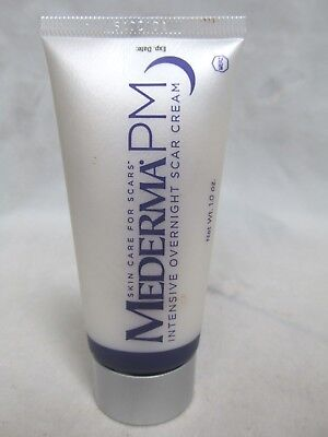 Mederma PM Face and Body Intensive Overnight Old and New Scar Cream 1 oz No Box