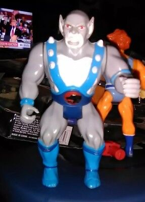1985 LJN Thundercats Panthro Action Figure Vintage Toy Telepix Loose and Used