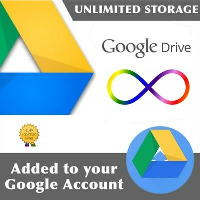 UNLIMITED STORAGE  drive unlimited on your existing account on team drive