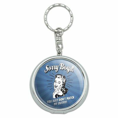 Sorry Boys You Don't Match My Outfit Portable Travel Ashtray Keychain