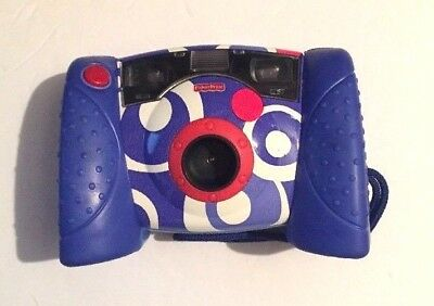 Fisher Price Kid Tough Digital Camera Blue with Case