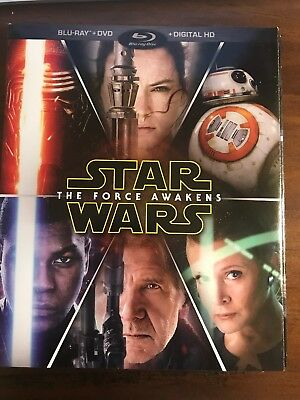 Star Wars The Force Awakens DVD Like New