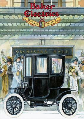A2 Baker Motor Vehicle Company c1910 American carVintage PosterA1 A3