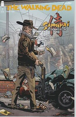 The Walking Dead #1 15th Anniversary Samurai Comics Store Variant IN HAND NM