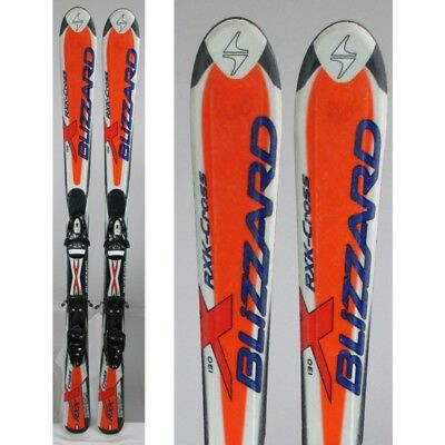 Ski occasion junior Blizzard RXK Cross + fixations