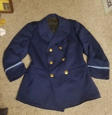 Vintage 1960s Mass State Police Lt. Colonel Robert Murgia overcoat
