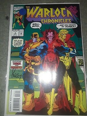 Warlock Chronicles #3 Signed by Tom Raney, 1993