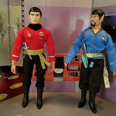 Custom Mego 8 INCH  Star Trek Mirror Mirror Sulu figure