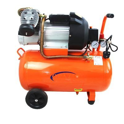 ORAZIO 241122 Air Compressor Direct Type Twin Piston  50L 3HP