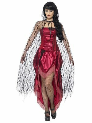 Smiffy's Halloween Women's Gothic Lace Cape