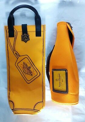 Veuve Cliquot Champagne Insulated Carry Bottle Bag Champagne Gift Tote Thermal