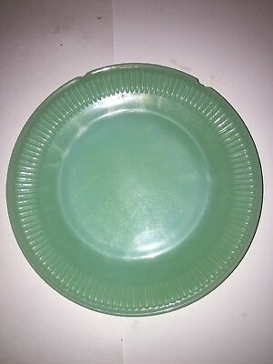 """Vintage Fire King Jadeite 7.25"""" Plate *Chipped*"""