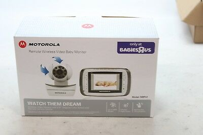 Motorola Digital Video Baby Monitor with Video 2.8 Inch Color Screen mbp41