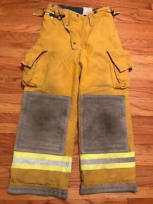 Cairns Firefighter Turnout Pants Bunker Gear With Liner 30 X 26