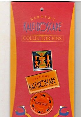 Barnum's Kaliedoscape Collector Pins -  New